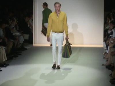 Desfile Gucci Spring-Summer 2013, Moda para hombre