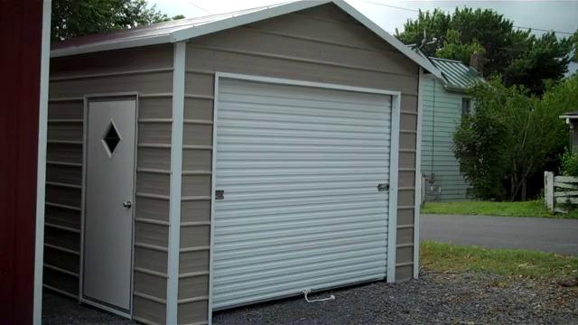 Free garage building plans detached wholesale Carports Metal Garages Video Alans Factory Outlet Metal Garages For Sale Free Installation On Steel Garage Buildings