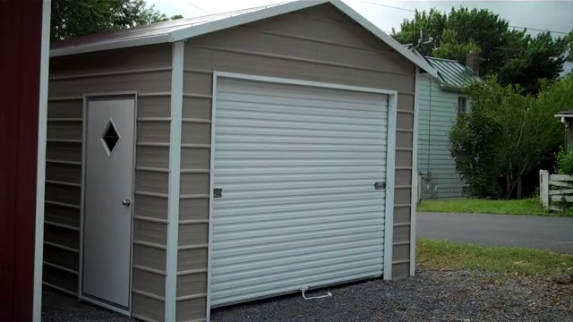 Metal garages for sale free installation on steel garage buildings metal garages video solutioingenieria Image collections