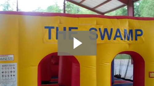 Camp Swamp Obstacle Course Video