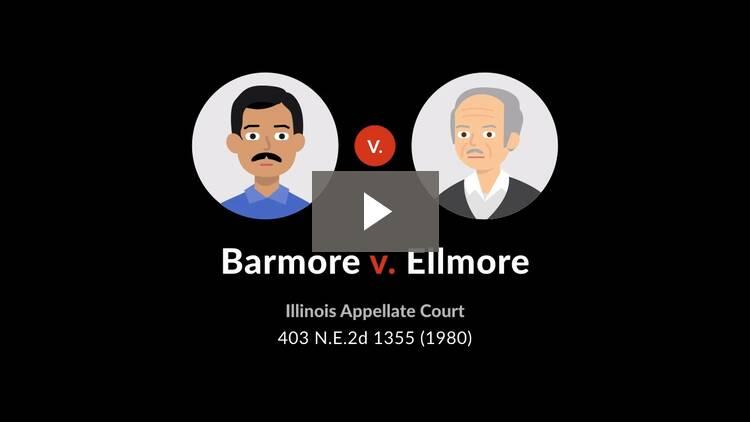 Barmore v. Elmore