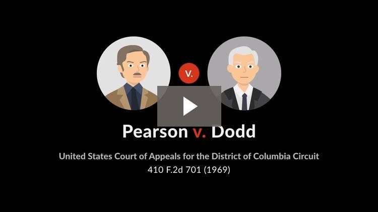 Pearson v. Dodd