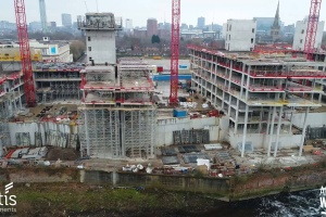 Adelphi Wharf Phase 3 - Drone Footage - March 2018