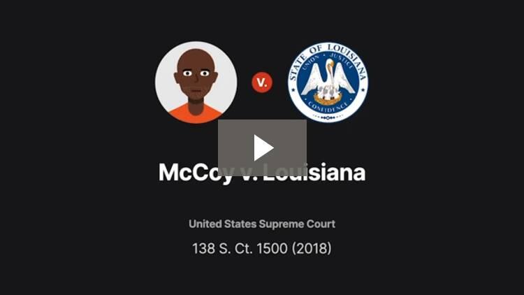 McCoy v. Louisiana