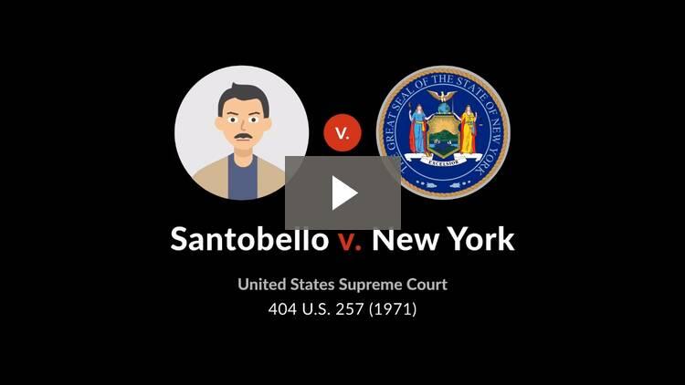 Santobello v. New York