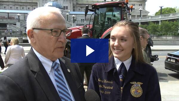 5/8/19 - Talking with Jenna Harnish, President of PA FFA