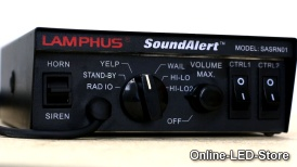 LAMPHUS® SoundAlert™ 100W Siren PA System w/Light Control Switches & Speakers Demo