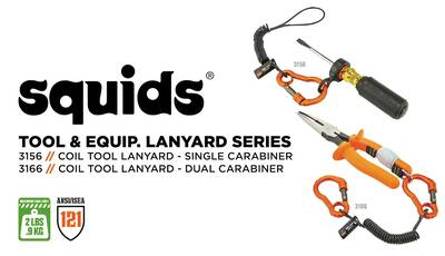 How to Tether Your Hard Hats and Small Tools with Coil Tool Lanyards