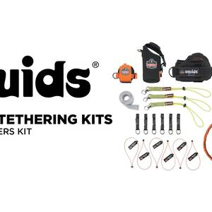 Ergodyne Product Video - Squids<sup>®</sup> 3185 Glazier's Tool Tethering Kit