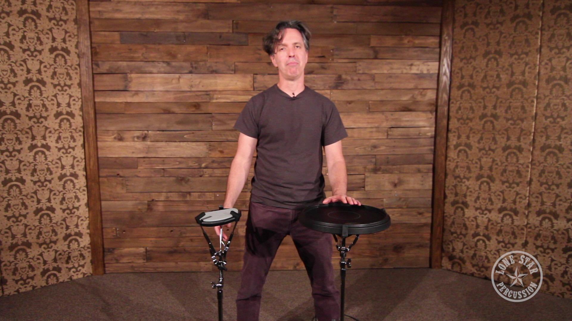 Ahead Asst2 Lightweight Concert Height Snare Practice Pad