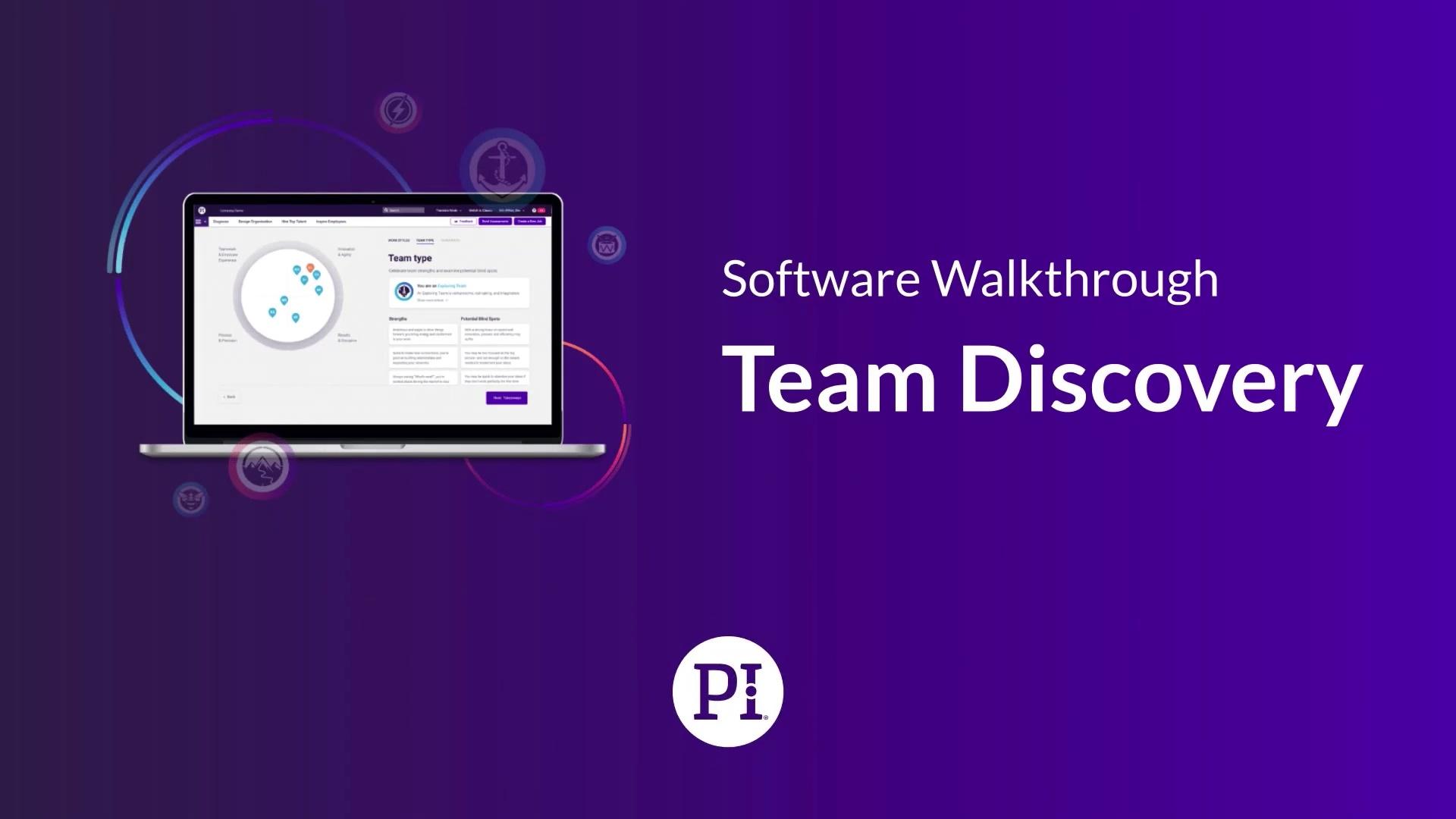 Team Discovery Software Walkthrough