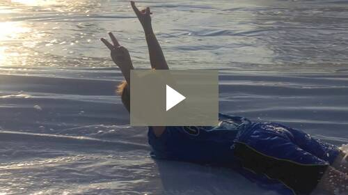 Camp Swamp Slip n Slide Video