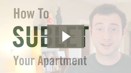 How To Sublet Your Apartment
