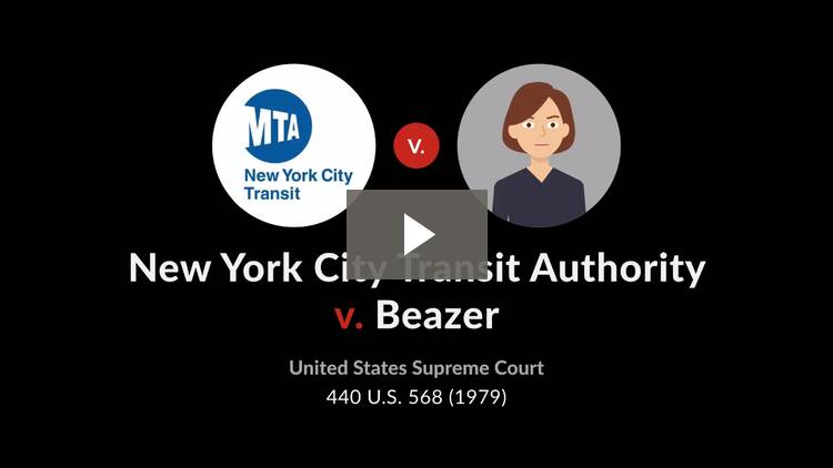New York City Transit Authority v. Beazer