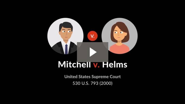Mitchell v. Helms