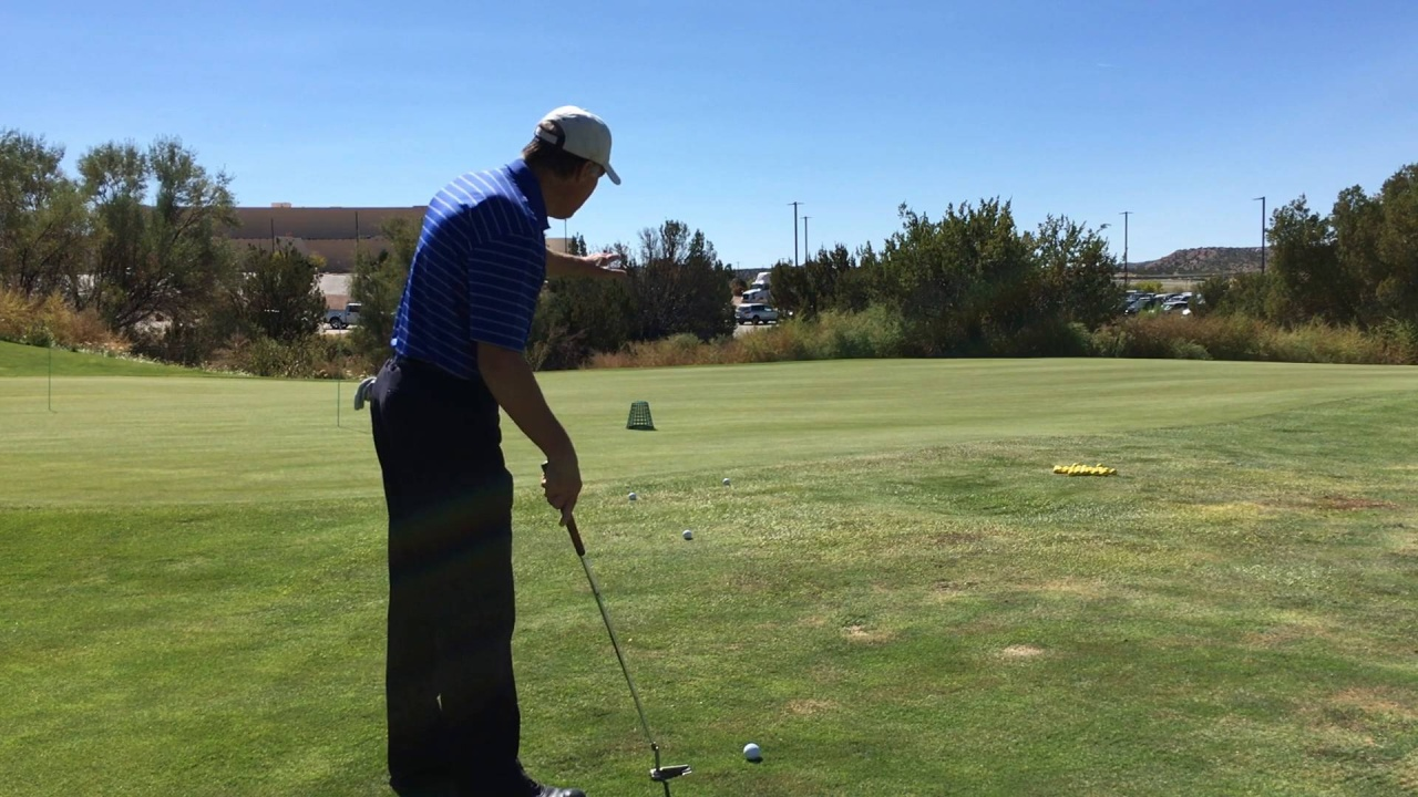 Practice Putting from Off the Green