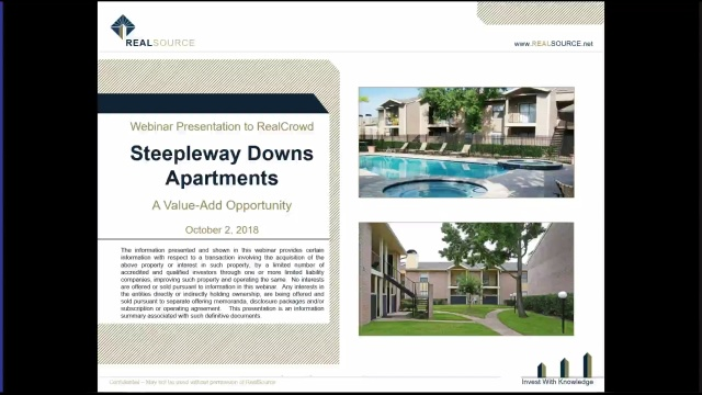Investment Video - Steepleway Downs Apartments Value-Add Offering