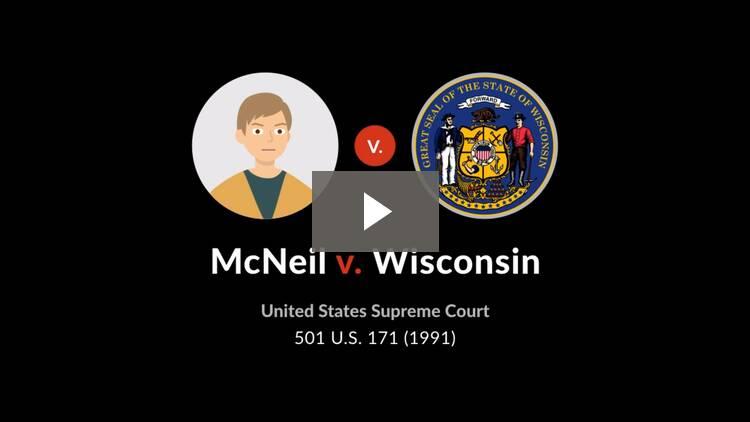 McNeil v. Wisconsin