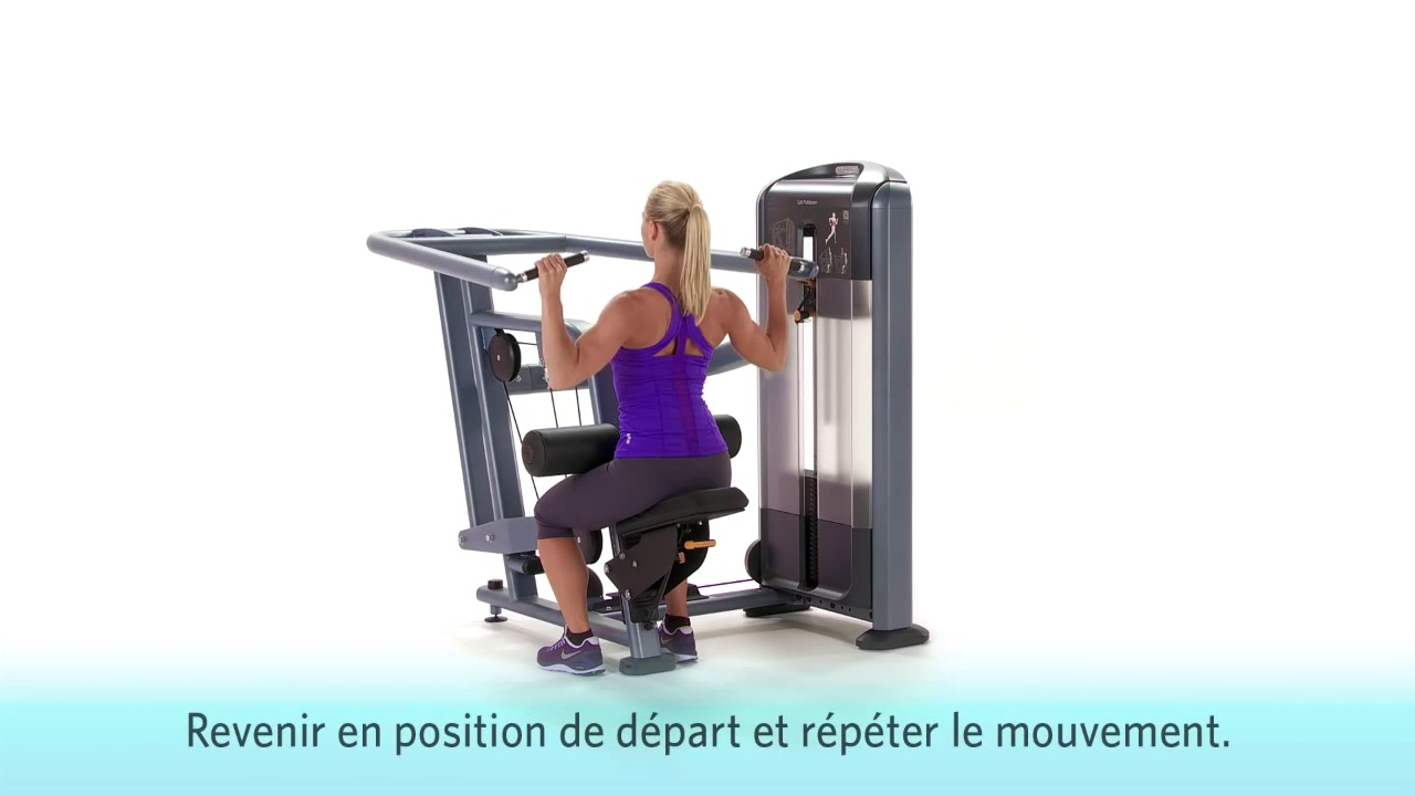 Discovery Series Selectorized Lat Pulldown