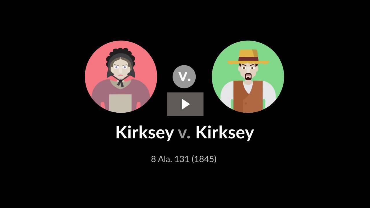 Kirksey v. Kirksey
