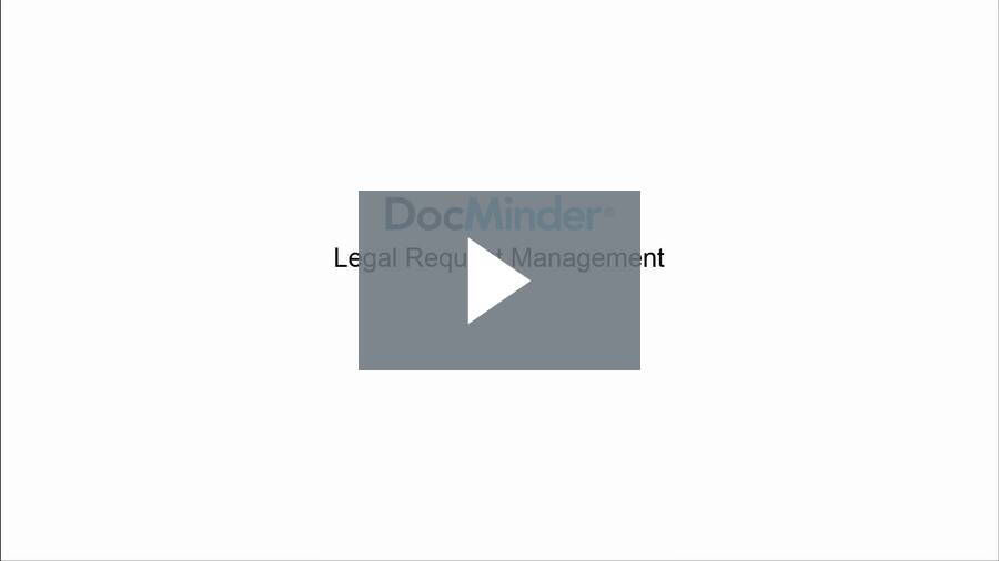 Legal Request Management