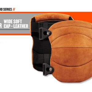 Ergodyne Product Video - ProFlex<sup>®</sup> 230LTR Leather Knee Pads - Wide Soft Cap