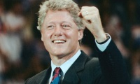 How did Clinton rise to power?