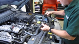 Coolant Hose & Thermostat Kit Service On Range Rover Sport Supercharged