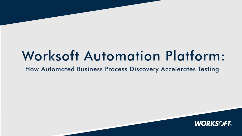 How Automated Business Process Discovery Accelerates Testing