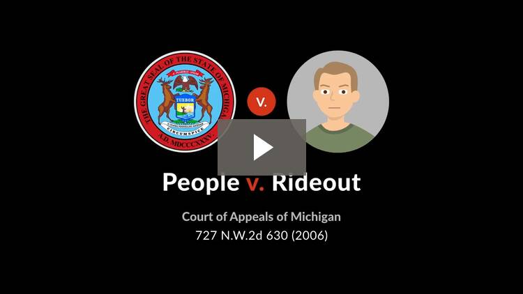 People v. Rideout