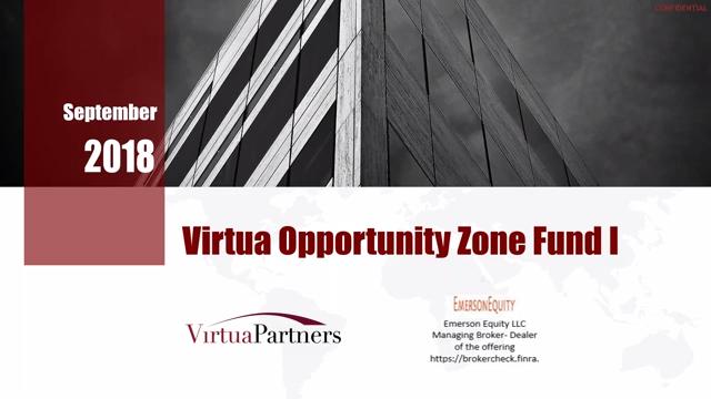 Investment Video - Virtua Opportunity Zone Fund I, LLC