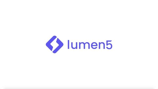 Lumen5 Product Tour