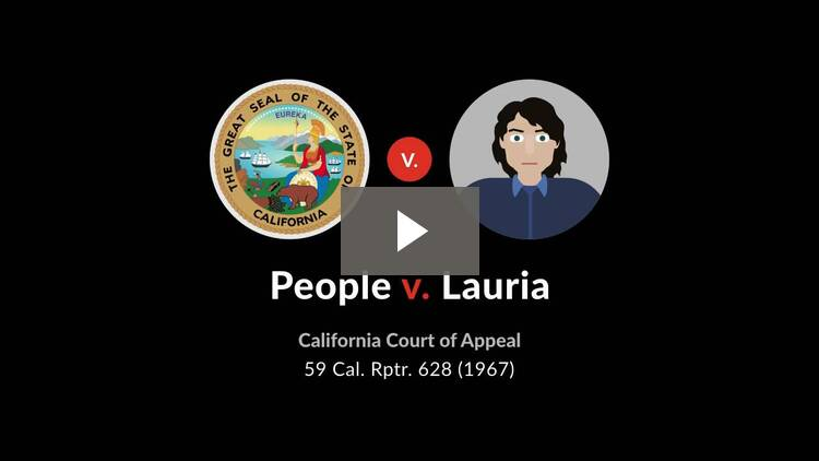 People v. Lauria