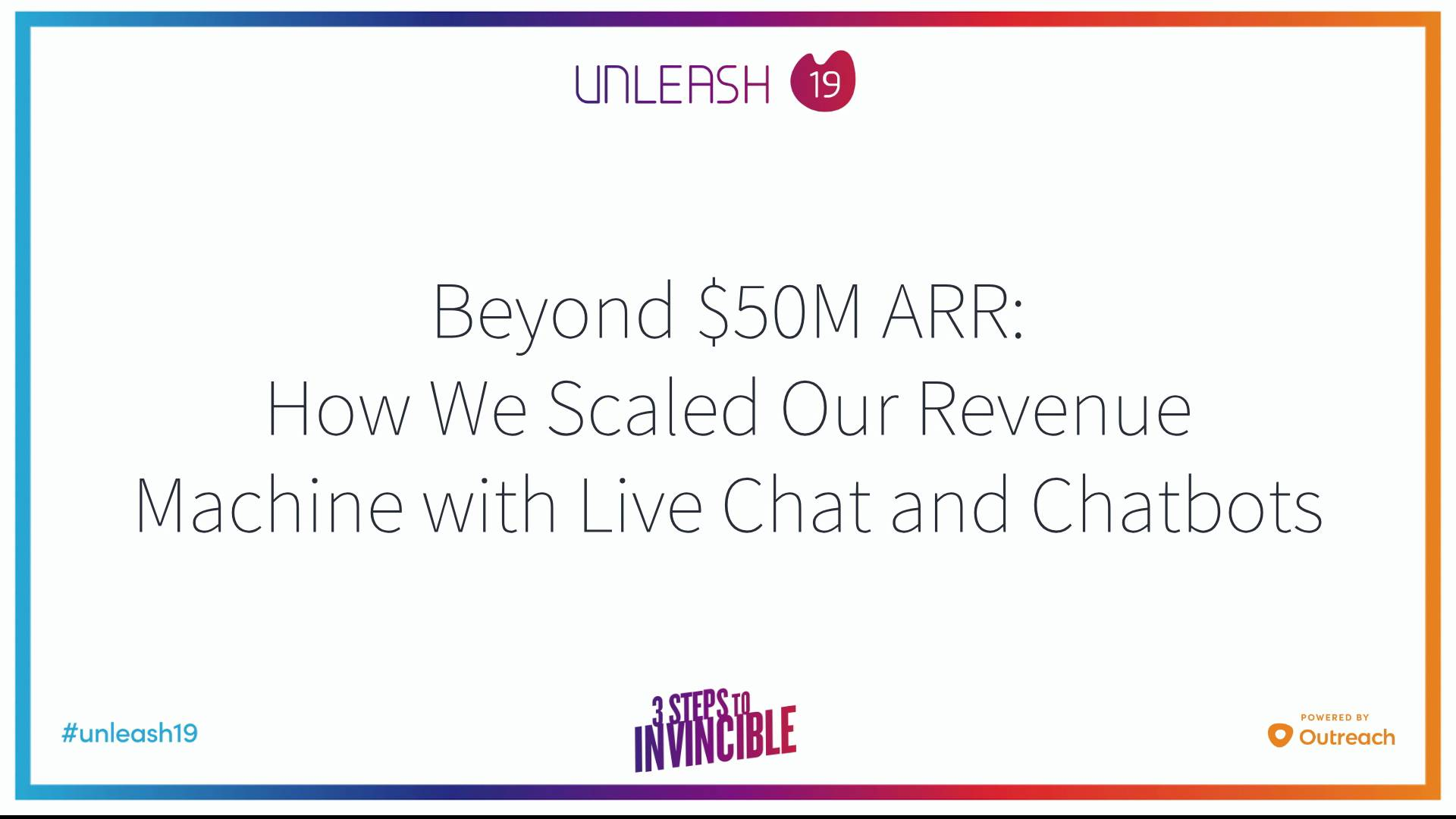 Beyond 50M ARR How We Scaled Our Revenue Machine with Live Chat and Chatbots - Scott Barker, David Katz