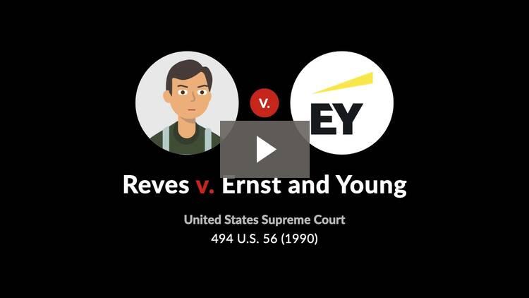 Reves v. Ernst & Young