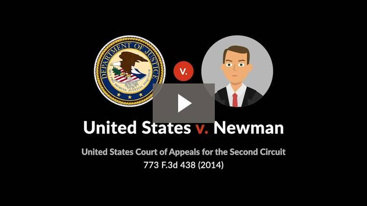 United States v. Newman