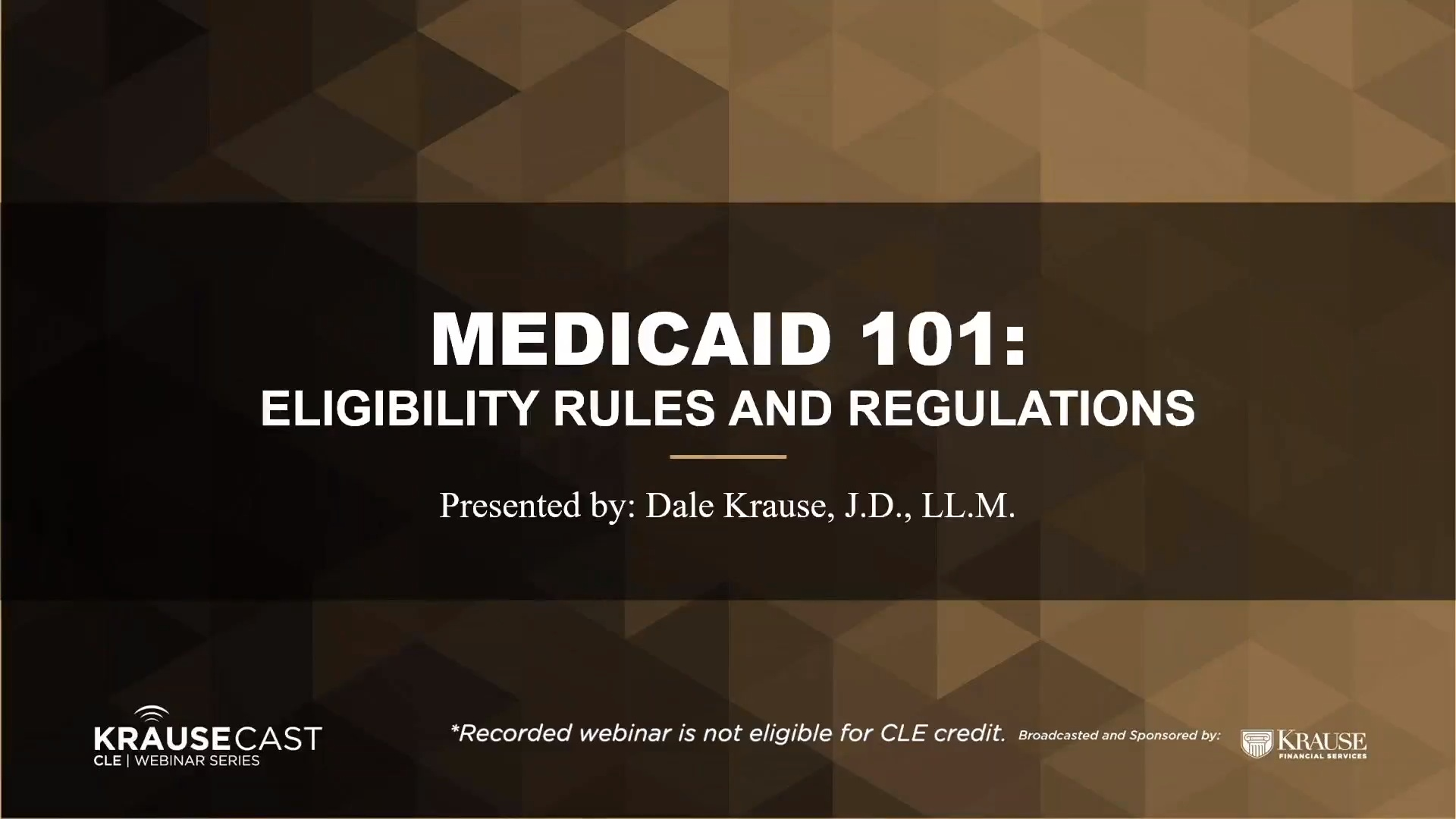 Medicaid 101: Eligibility Rules and Regulations