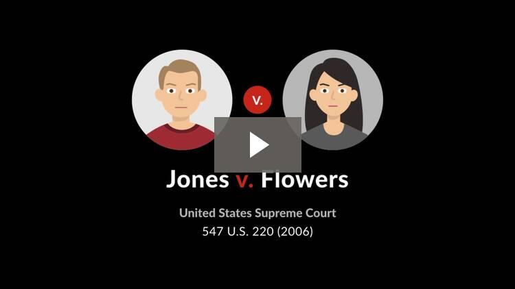Jones v. Flowers