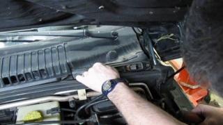 Pollen Filter Install On Range Rover P38