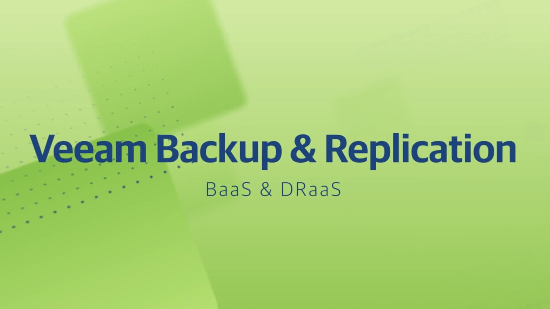 Product launch v11 - VBR - BaaS & DRaaS