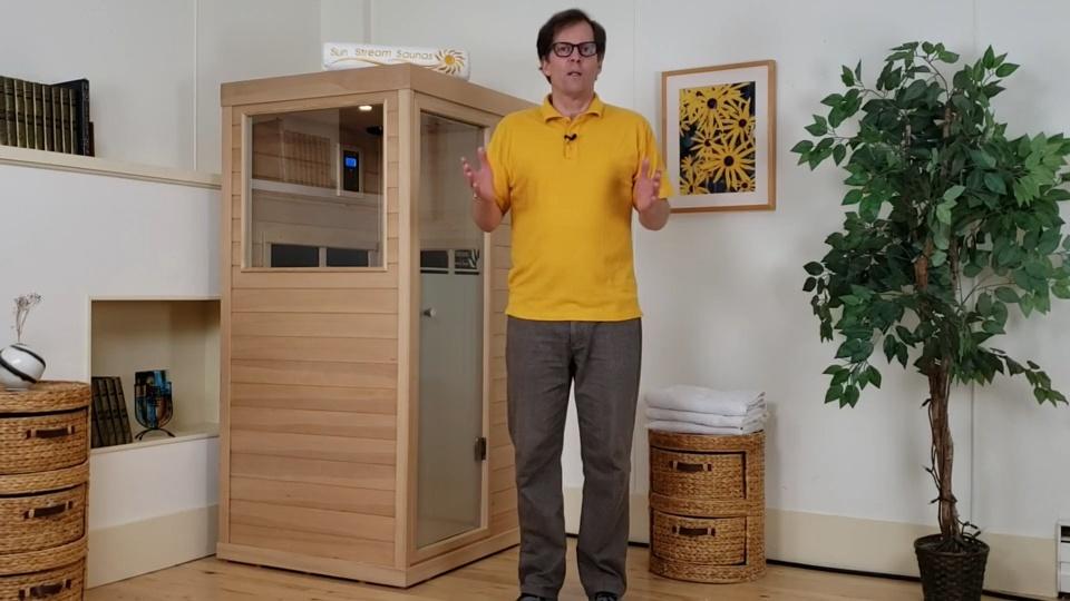 mini infrared sauna review
