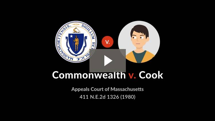 Commonwealth v. Cook