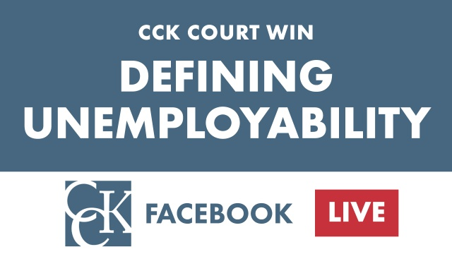 CCK Court Win: Precedential Decision on VA Unemployability