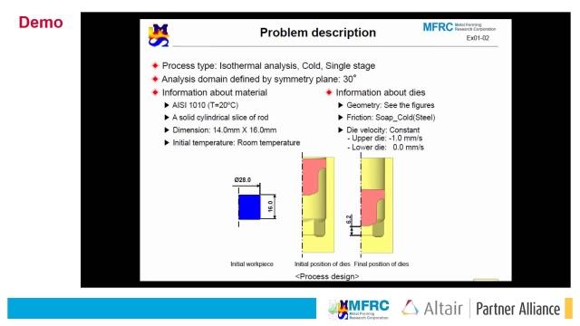 Metal Forming Simulation Afdex