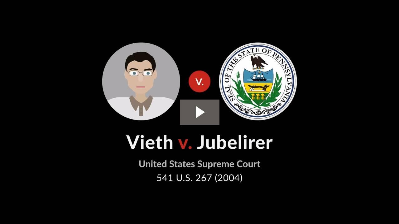Vieth v. Jubelirer