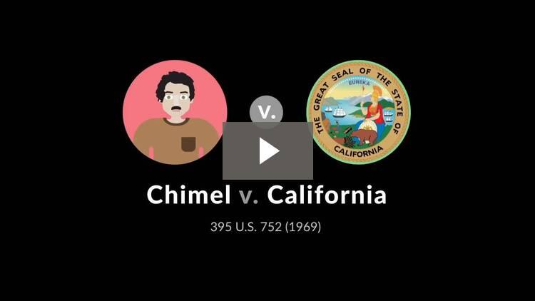 Chimel v. California
