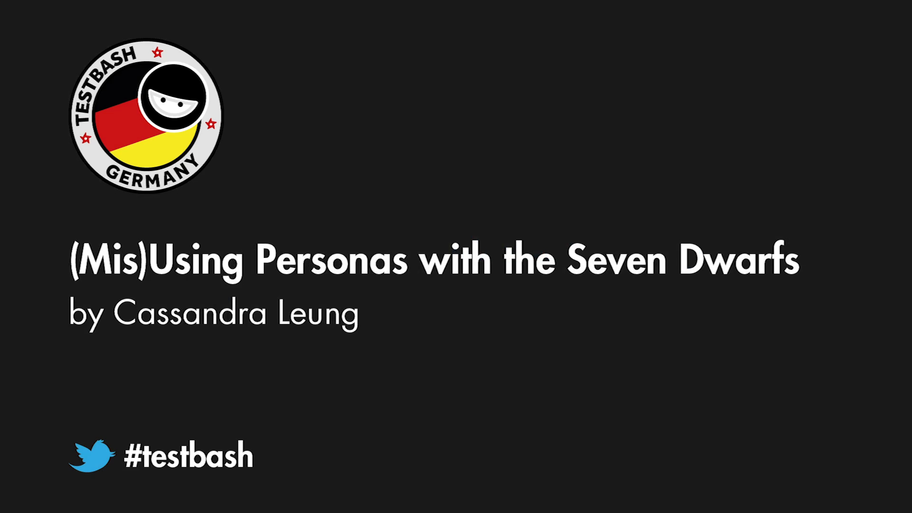 (Mis)Using Personas with the Seven Dwarfs - Cassandra H. Leung