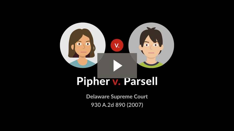 Pipher v. Parsell