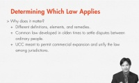 Determining Which Law Applies: UCC or Common Law thumbnail