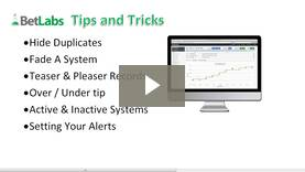 Bet Labs Tips and Tricks